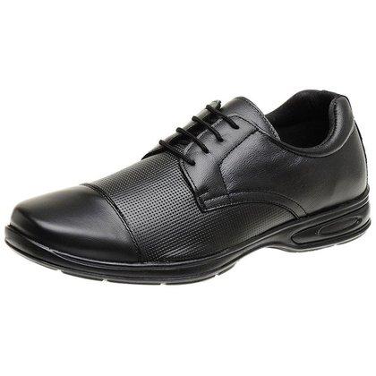 Sapato Social Masculino em Couro Confort Ortopédico -