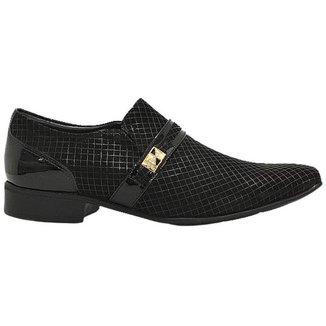 Sapato Social Masculino Em Couro Fosco E Verniz Jota Pe 74810