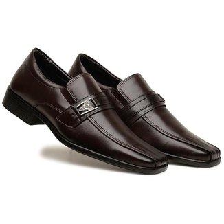 Sapato social masculino em couro premium