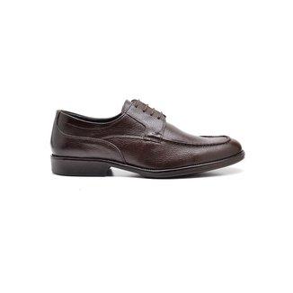 Sapato Social Masculino em Couro Reta Oposta
