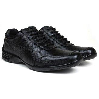 Sapato Social Masculino Free Shoes Em Couro - Cor