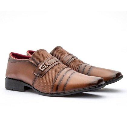 Sapato Social Masculino Freeport GuGi Com Sola Costurada Antiderrapante
