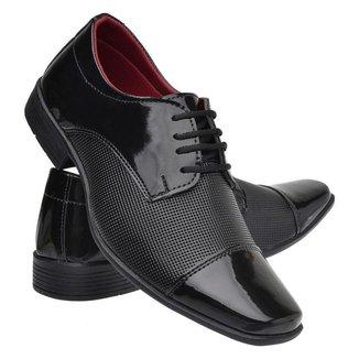 Sapato Social Masculino Leve Macio Dia a Dia Moderno
