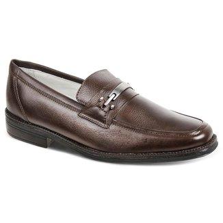Sapato Social Masculino Loafer Sandro Moscoloni Camberra Marrom
