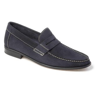 Sapato Social Masculino Loafer Sandro Moscoloni Holt Marrom