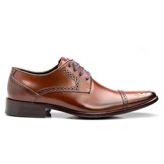 Sapato Social Masculino Luxo Bigioni Solado Em Couro