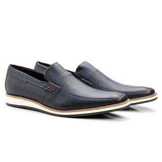 Sapato Social Masculino Marinho Bigi525