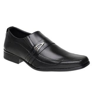 Sapato Social Masculino Metal Elástico Confortável Macio