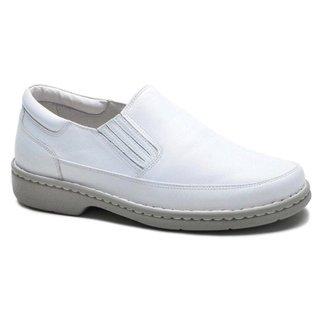 Sapato Social Masculino Ortopédico Couro Liso Dia a Dia