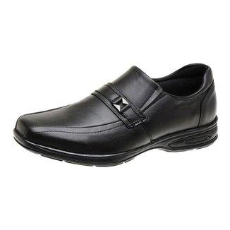 Sapato Social Masculino Ortopédico em Couro -