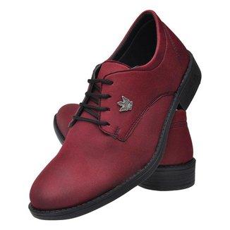 Sapato Social Masculino Oxford Simples Básico Liso Leve