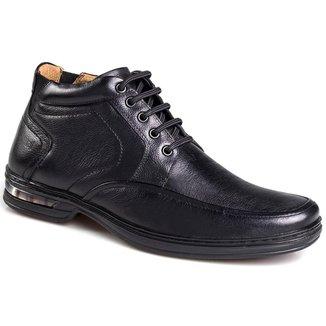 Sapato Social Masculino Rafarillo Couro Cadarço Conforto