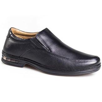 Sapato Social Masculino Rafarillo Couro Elástico Ajustável