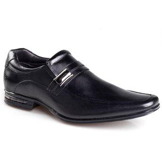 Sapato Social Masculino Rafarillo Couro Liso Confortável