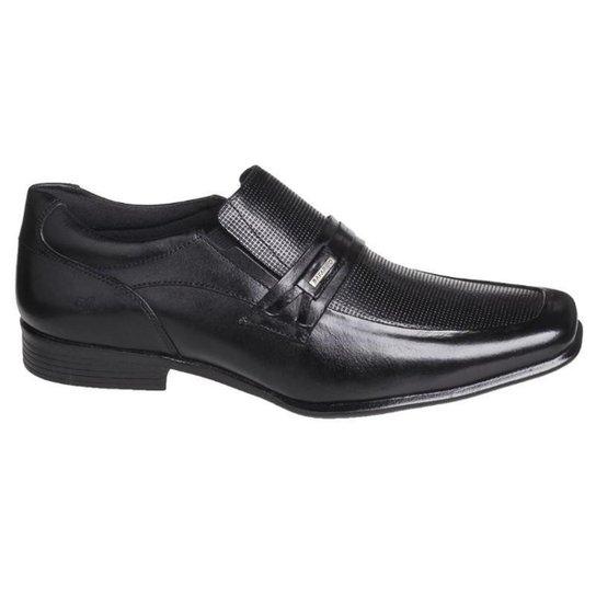 Sapato Social Masculino Rafarillo em Couro 45030 - Preto