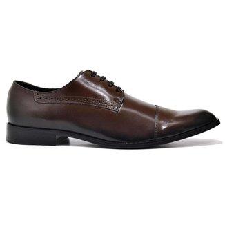 Sapato Social Masculino Reta Oposta