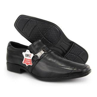 Sapato Social Masculino Sport Fino Casual Em Couro BR2 Footwear
