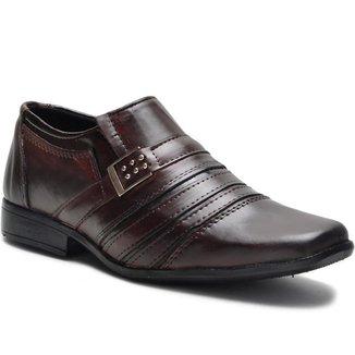 Sapato Social Monaco com Costura Superior Masculino