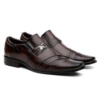 Sapato Social Nancy Confortável Leve Masculino