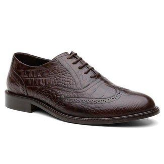 Sapato Social Oxford Brogue Australia Masculino