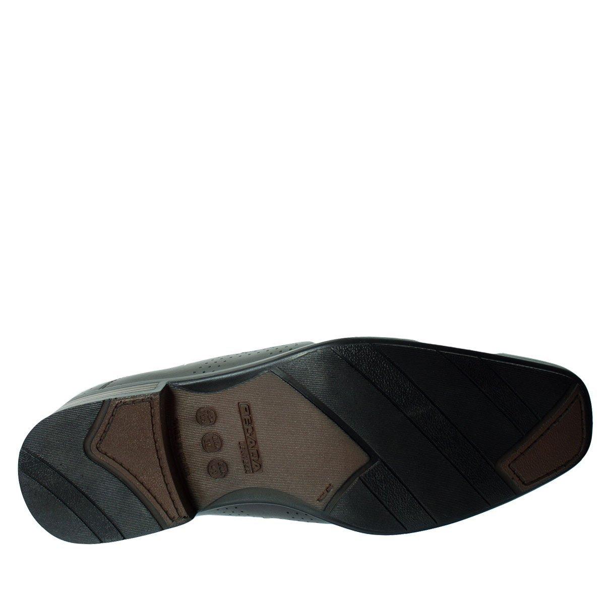 72ef477fc7 Sapato Social Pegada Anilina Levitech Vegetal - Marrom - Compre ...