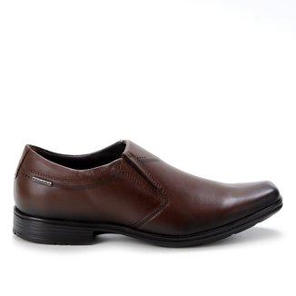 Sapato Social Pegada Bico Quadrado Masculino