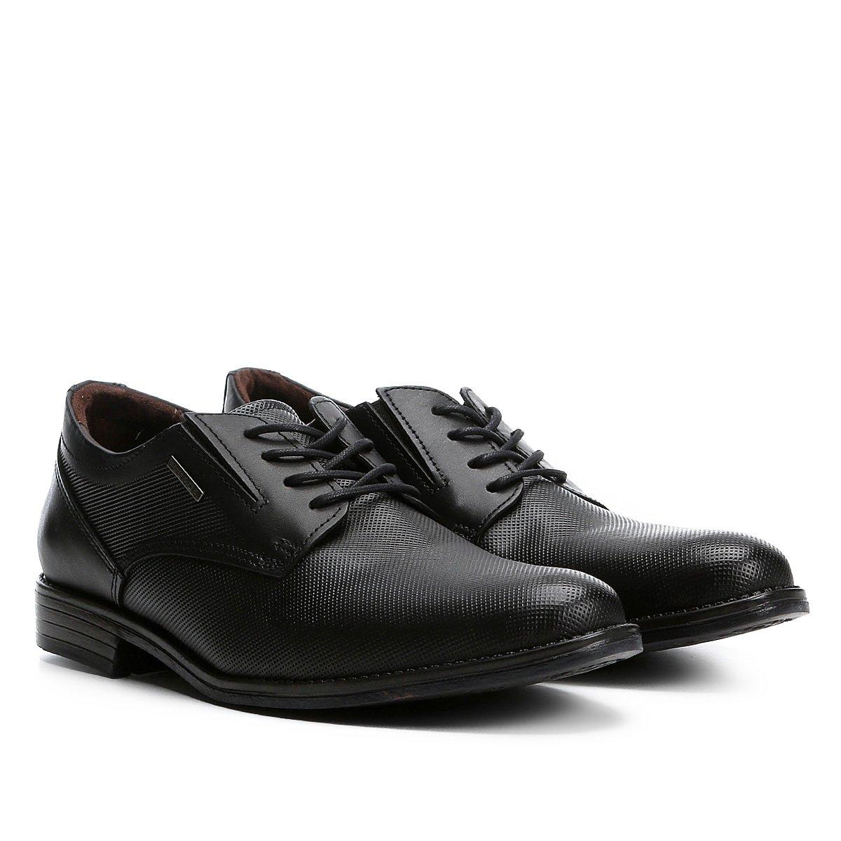007dde757 Sapato Social Pegada Masculino - Preto - Compre Agora | Zattini