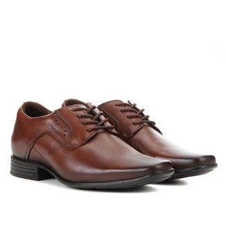 Sapato Social Pegada Perfuros Bico Fino Masculino