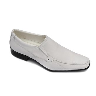 Sapato Social PisaForte Couro Solado Costurado Masculino