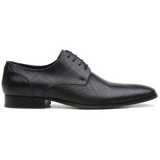 Sapato Social Preto Em Couro 32207