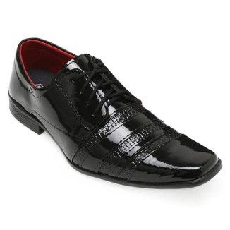 Sapato Social Pro Eleganci Verniz Masculino