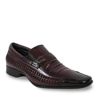 Sapato Social Rafarillo Couro com Texturas Masculino