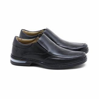 Sapato Social Rafarillo Couro Elástico Masculino