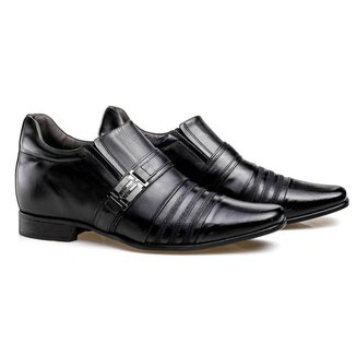 Sapato Social Rafarillo Salto 7cm Ajuste Elástico  Masculino