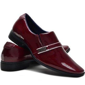Sapato Social Ruggero Elástico Conforto Masculino
