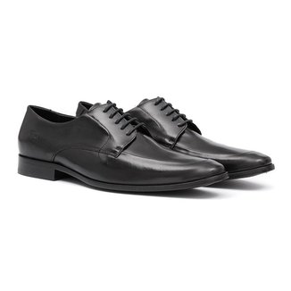 Sapato Social   Samello Cruze Couro Masculino