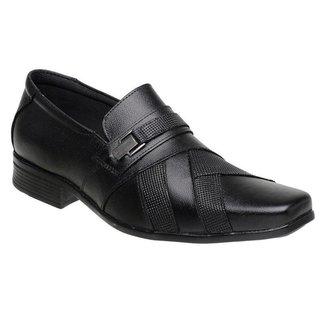 Sapato Social Sandalo Plaza Preto
