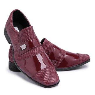 Sapato Social Schiareli Casual Ref734 Masculino