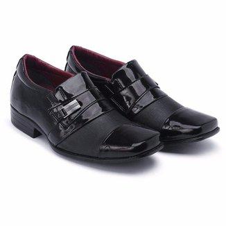 Sapato Social Schiareli Infantil Luxo Verniz