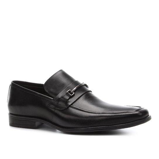 Sapato Social Shoestock Gravata Metal Masculino - Preto