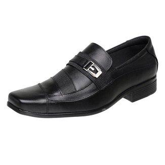 Sapato Social silva&silva 3051 Couro Masculino