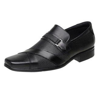 Sapato Social silva&silva 3061 Couro Masculino