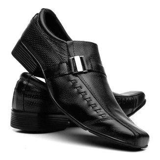Sapato Social  silva&silva Couro Masculino