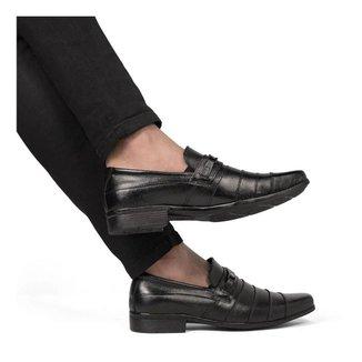 Sapato Social silva&silva  Masculino 3041  Couro