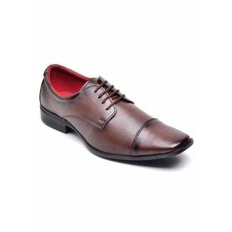 Sapato Social Top Flex Cadarço Masculino