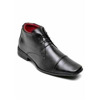 Sapato Social Top Flex Cano Alto Masculino