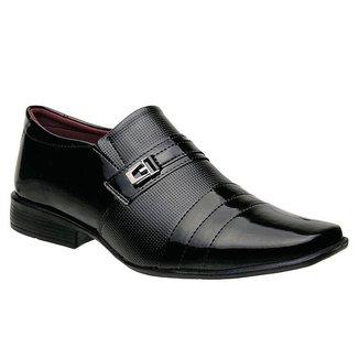 Sapato Social Torani Palermo Verniz Masculino