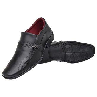 Sapato Social Torrenezzi Liso Bico Quadrado Masculino