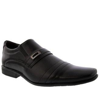 Sapato Social Valença Detalhe em Pesponto Preto - 41
