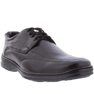 Sapato Social Valença Detalhe em Pespontos Preto - 47